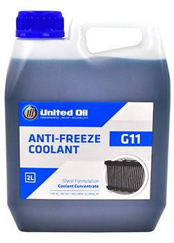 Концентрированная охлаждающая жидкость (антифриз) United Glycol-G11 работает во всех типах двигателей, установленных на легковой и тяжелой грузовой технике, а также промышленных двигателях