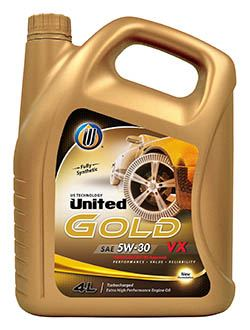 Высокоэффективное масло для дизельных двигателей United Gold VX обеспечивает защиту двигателя при высоких температурах, позволяет предотвратить тепловой пробой и значительно уменьшить образование нагара на поверхности двигателя, защищая систему очистки выхлопных газов