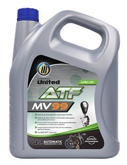 Полусинтетическая жидкость для автоматических трансмиссий United ATF MV-99 обеспечит плавную и беспрепятственную работу трансмиссии в любое время года