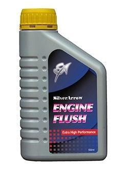 Масло для промывки двигателя Silver Arrow Engine Flush крайне эффективно и быстро очищает масляную систему от загрязняющих веществ