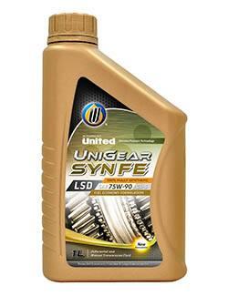 Трансмиссионные масла United LSD Fully Syn Fe Unigear S5 гарантируют пониженное формирование отложений и меньшее изменение вязкости во время использования, а также более стабильные характеристики противозадирных свойств, по сравнению с обычными минеральными маслами