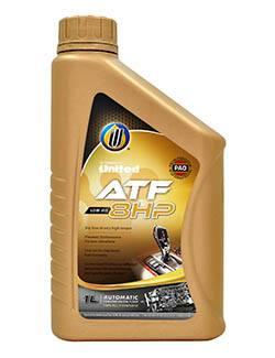 Полностью синтетическая жидкость для восьмиступенчатых автоматических трансмиссий United ATF-8HP, на основе полиальфаолефинов (ПАО) с добавлением пакета высокотехнологичного присадок
