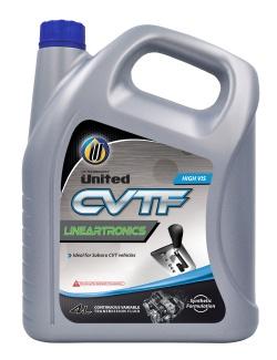 100% синтетическая жидкость United CVT Lineartronics для бесступенчатых коробок передач (вариаторов) производится на основе высокоэффективных синтетических базовых масел и тщательно подобранных присадок, снижает трение и износ деталей, обладает более длительным сроком службы