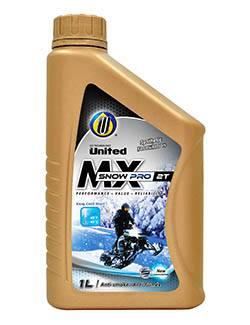 Высококачественное масло United MX 2T Snow Pro для двухтактных двигателей снегоходов, мотоциклов и квадроциклов обеспечивает превосходную защиту и максимальную производительность двигателя