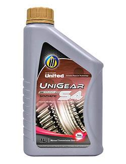 Универсальная полусинтетическая трансмиссионная смазка United UniGear S4 обеспечивает длительную и безотказную работу трансмиссии